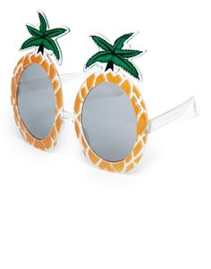 Have some fun and accessorize your outfit with these really funky novelty sunglasses <3 - ASOS Pineapple Sunglasses