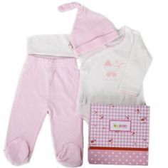 Minene Unisex Baby Top and Trousers Gift Set