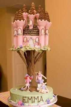 The Ultimate Flower Fairy Birthday Cake | The birthday girl … | Flickr