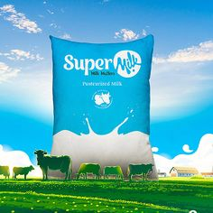 Like any other business, it is very crucial to study the dairy business in india that one wishes to provide such as the geography, incomes and the household Milk Packaging, Packaging Ideas, Packaging Design, Milk Advertising, Advertising Ideas, Dairy Business, Press Ad, Milk Products, Social Media Design