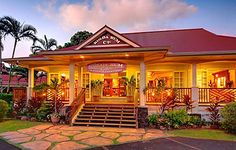 Kilohana Plantation was built in 1935 by the sugar baron, Gaylord Wilcox.