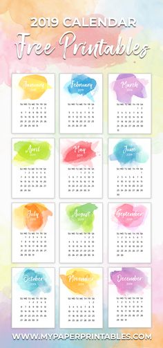 I know, I know 2018 is months away but I like to get a jump on things. So I created these adorable desk size calendar cards FREE for you! Free Calender, Free Printable Calender, Monthly Calender, Desktop Calendar, 2019 Calendar, Desk Calendars, Printable Paper, Free Printables, Calendar 2019 Design