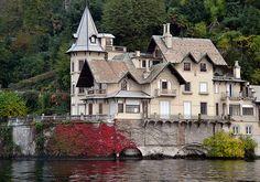 Villa Troubetzkoy on the Lago di Como in Italy