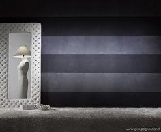 Quando neve si fonde con Gioia, la parete brilla e si illumina in base alle luci. Non male per casa o per uno showroom. #decorazione #pittura #painting #gioia #giorgiograesan #neve