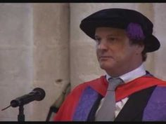 Colin Firth - Honorary speech 2007 Graduation at University of Winchester