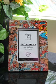 Ms. Marvel Comic Book Picture Frame by wookiedesign on Etsy