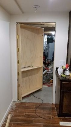 In The Process Of Finishing My Basement I Decided I Wanted To Hide My  Unfinished Spaces Behind Some Nice, Fancy, Secret Bookcase Doors. Check Out  My Wiki.
