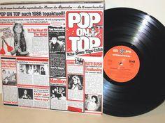 POP ON TOP 1/86 -  Sandra, L-Vira, UB 40, Opus usw. LP