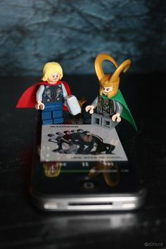 "Thor: ""Loki, this is Madness!""  - Thor Movie, 2011. [From The Avengers Movie Interpretation Lego Project]"