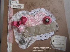 Artisan embellishment kit card by Crafty Ink Buds