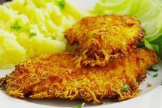 Jogurtové kuracie rezne v rúre Hungarian Recipes, Russian Recipes, Czech Recipes, Ethnic Recipes, Chicken Paprikash, Food Porn, Pork Meat, Cooking Recipes, Healthy Recipes