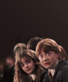 Hermione + Ron