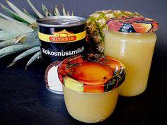 Piña Colada Marmelade (500g Ananas, Zucker 2:1)  ~~> 6€