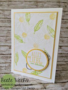 Gänseblümchengruß, Alles Liebe, Geburtstagskind, Glückwunsch, Karte, Frühling, Osterglocke