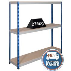 Medium Duty Rivet Racking System from gorilla Racking. We offer the best prices and FREE delivery on medium duty racking. Racking System, Magazine Rack, Range, Medium, Kitchen, Cookers, Cooking, Kitchens, Cuisine