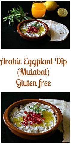 Arabic Eggplant Dip (Mutabal) - :: Nutrizonia ::