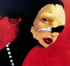 mikapoka: making women's voices heard - Italy was proud to welcome the very first exhibition abroad   of Iranian female painter Afarin Sajedi, a woman artist who   exclusively portrays women and their own wretched   condition to stress the need of a change in her homeland's prevailing mentality.