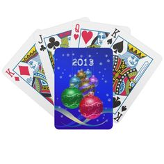 Happy Holidays! Bicycle Card Deck
