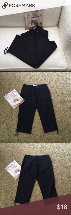 "🔴FINAL PRICE🔴NWOT-""Black Capris NWOT- Black capris, never worn. No pet/non-smoking home. Pants Capris"