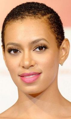 solange knowles. fade-haircut-on-women ...