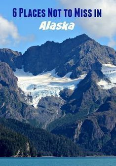 When considering your upcoming vacation plans, don't forget Alaska. Here are 6 Places Not to Miss in Alaska #travel #alaskatravel