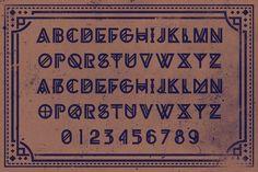 GRIBA Typeface by AgungMaskund on @creativemarket
