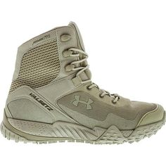 Under Armour 1250234 Men's Desert Sand Valsetz RTS Lightweight Boots - Size Black Coyote, Duty Boots, Duty Gear, Hunting Clothes, Under Armour Men, 5 D, Combat Boots, Running Shoes, Shoe Boots