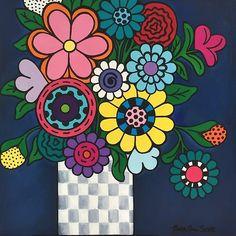 Checkered Bouquet