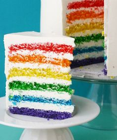 Puke rainbows with these colorful teats! Recipes included! Reference site: mom.me
