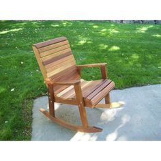 This Deck Tu0026L Rocking Chair Is For Those Who Want To Rock Away The  Afternoon With