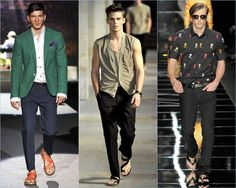 Sandals - How to Wear Mens Sandals This 2012 -Men Style Fashion