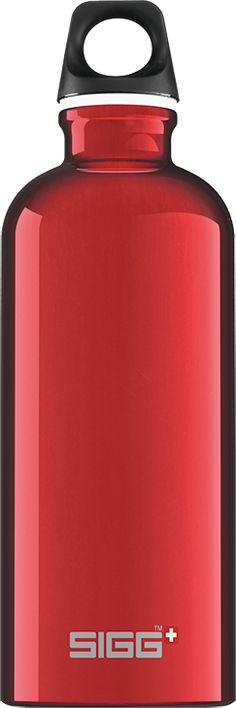 Traveller Red Sigg Bottles, North America, Water Bottle, Classic, Red, Travel, Trips, Water Flask, Viajes