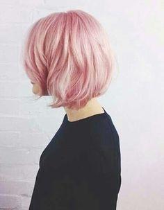 Fairy floss pink bob