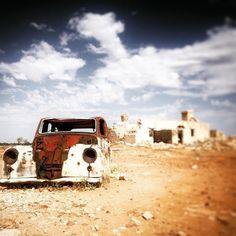 Taken by my good friend Jo Bourke #rusty #car Birdsville central #Australia. Image worked over by #snapseed... #snapseedaily #snapseededit #vintage #desert #summer #oldcar #instadaily #instart #igers #igaustralia #travel #travelgram #rustic
