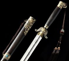 Genuine Shen Hirotaka Handmade Flower Tai Chi Sword via Asia-Sale Best Tai Chi, Kung Fu Clothing