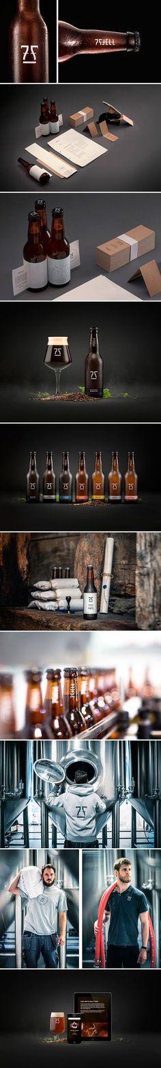 identity / 7 Fjell Brewery