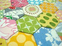 hexagon tutorial by Lori...fabulous!!!