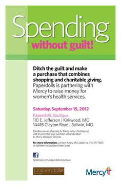 Shopping for a great cause!