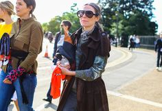 2015: Veronique Tristram Veronique Tristram, the German stylist with the aviator glasses, was the breakaway star of the Spring 2016 season, appearing on an almost-daily basis in neutral looks accessorized with her trademark specs. Looks pretty smart, indeed.