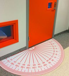every math's teachers dream door mat