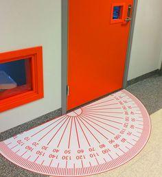 every math's teachers dream door mat