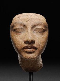 theanarch:  New Kingdom, 18th dynasty, reign of Akhenaten,1351-1334 B.C.Staatliche Museen zu Berlin, Ägyptisches Museum und Papyrussammlung