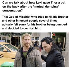 You are watching the movie Thor: Ragnarok on Putlocker HD. Thor is on the other side of the universe and finds himself in a race against time to get back to Asgard to stop Ragnarok, the prophecy of destruction to his Loki Thor, Loki Laufeyson, Tom Hiddleston Loki, Marvel Dc Comics, Marvel Avengers, Funny Marvel Memes, Marvel Jokes, Dc Memes, Loki Funny