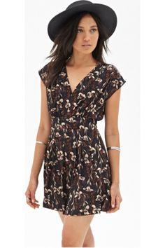 Kleid mit lilienprint