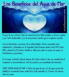 BUENASIEMBRA: Los Saludables Beneficios del Agua de Mar...