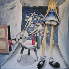 from charles blackman's alice series.