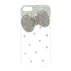 Bling Bow Clear Phone Case - iPhone 5/5S