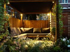 Small city garden - contemporary - patio - amsterdam - by Boekel Tuinen