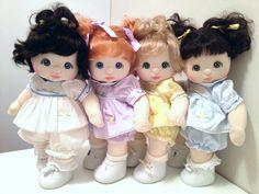 Sweet US Babies in ducky dresses
