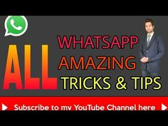 New on my channel: Make your WhatsApp 100% Spyproof with this simple trick! https://youtube.com/watch?v=y8xaCNYYKhU